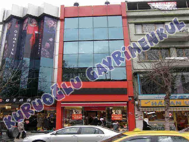 Fatih Fevzi paşa kiralık mağaza bina