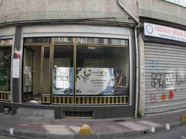 Fatih kuruoğlu emlaktan hattat izzette kiralık dükkan