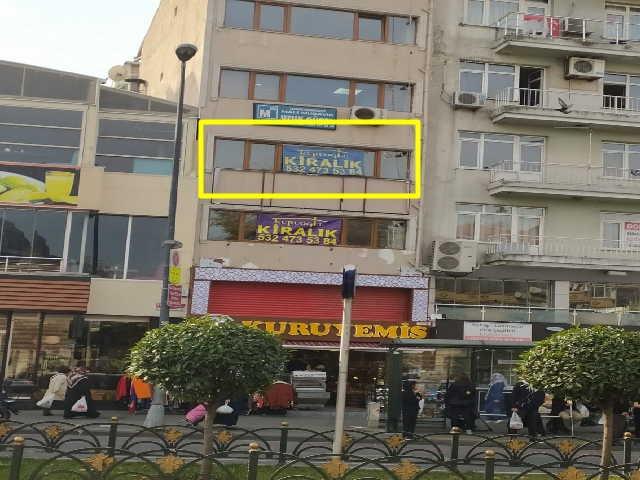 Fevzipaşa caddesinde kiralık büro tipi iş yeri