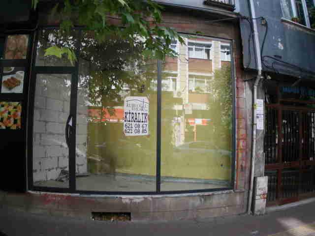 Nevşehirli ibrahimpaşa caddesinde kiralık dükkan işyeri