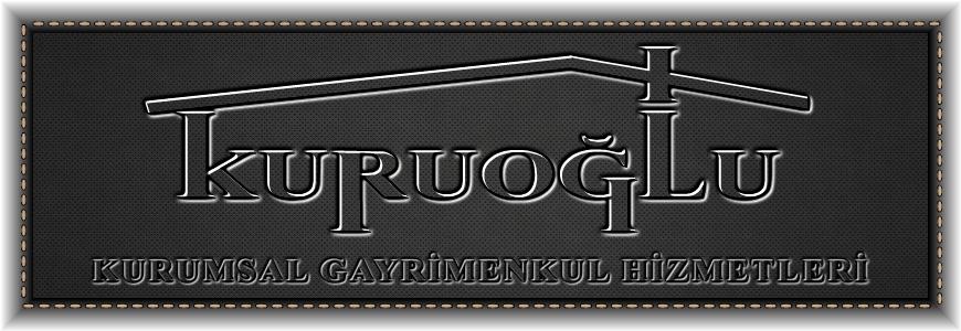 kuruoğlu gayrimenkul emlak logo
